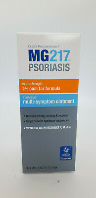MG217 Medicated Multi-Symptom Ointment, Intensive Strength 4oz NEW BIGGER 113.4