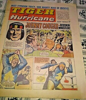 Tiger and Hurricane comic 27th July 1968