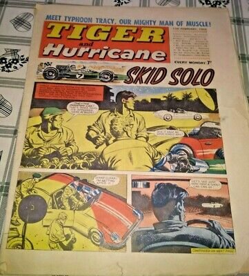 Tiger and Hurricane comic 15th February 1969