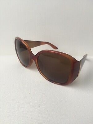 669f889f0e9 FENDI FS 5254 218 Rectangle Light Havana   Brown Ladies Sunglasses 58mm