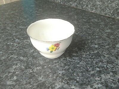 Genuine bone china Vale made in Longton England sugar bowl type