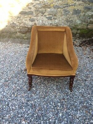 Vintage Early 1900's Tub Armchair