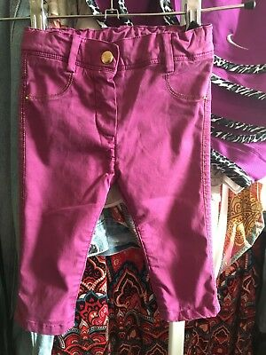Baby Girls jeans purple, age 6 Months, Little Marc Jacobs Brand