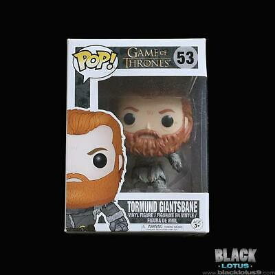 Funko Pop! Tormund Giantsbane Game of Thrones HBO Pop Season 8 IN STOCK 53