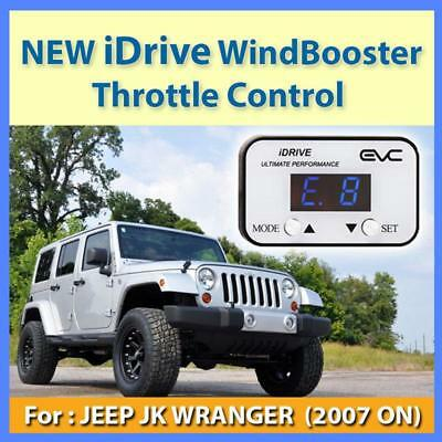 NEW IDRIVE WINDBOOSTER THROTTLE CONTROL for JEEP JK WRANGER 2007 ON