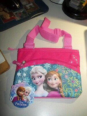 DISNEY FROZEN PINK PURSE - Elsa and Anna & Minnie Mouse Hat - NEW with tags