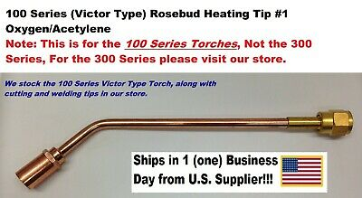 Heating Nozzle Rosebud Tip #1 for Victor/Victor-Type 100 Series Torches