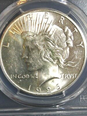1926-P Peace Silver Dollar PCGS MS 61 UNC BU Brilliant Uncirculated Super