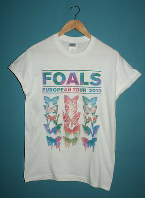 Foals Euro Tour 2013 T-Shirt Indie Hipster Maccabees Peace Metronomy 1975 Band