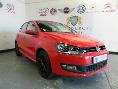 VOLKSWAGEN POLO 1.2 60 Match Red Manual Petrol, 2012