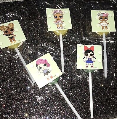 Pack Of 5 LOL Children's Girls Party Bag Fillers Favours Lollies Gift Sweet Cone