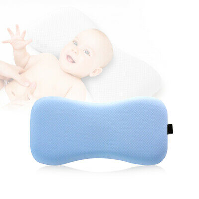 Memory Newborn Baby Infant Cotton Pillow Positioner Prevent Flat Head Anti Roll