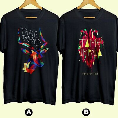Tame Impala Band Psychedelic Rock Band 3 T-shirt Cotton 100% Brand New