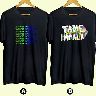 Tame Impala Band Psychedelic Rock Band 5 T-shirt Cotton 100% Brand New