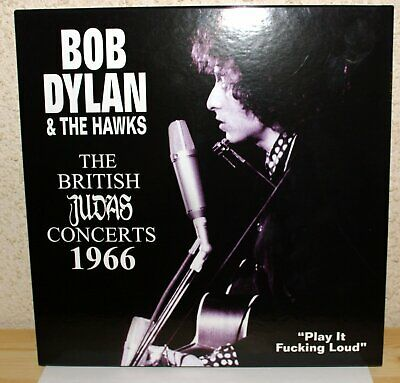 Bob Dylan & The Hawks - 5Lp 3Cd 1Dvd 1966 The British Judas Concerts