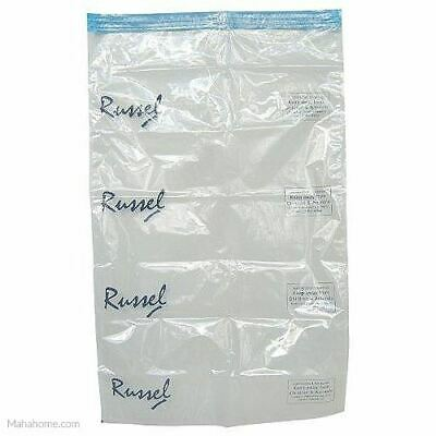 2 Vacuum Storage Bag Extra Large 60cm x 40cm - By Russel NEW