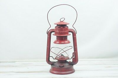 Antique Red Dietz No 2 D-Lite Tubular Kerosene Lantern Kerosene Lamp Globe