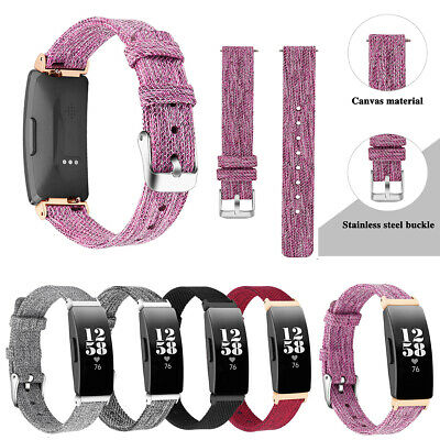 For Fitbit Inspire & Inspire HR Band Soft Nylon Sport Loop Replacement Strap New