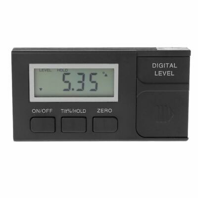Digital Level Box 4*90 Degree 360°0.05°Mini Protractor Inclinometer with Magneti