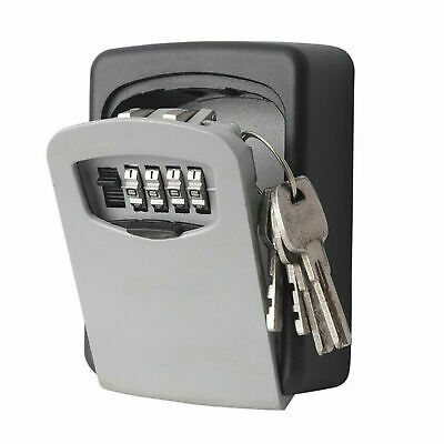 Key Safe Outdoor High Security Wall Mounted Box Secure Lock Combination Outside