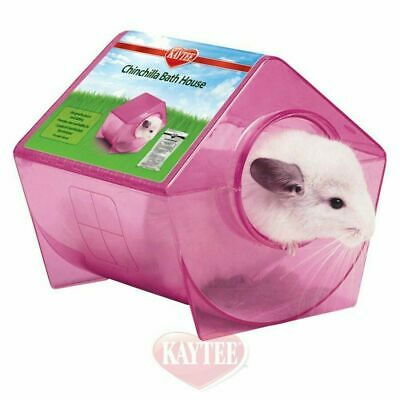 "Interpet Superpet Chinchilla Bath House 23x23x21.5cm (9x9x8.5"")"
