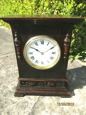 "Nice Edwardian  "" Buren "" 8 Day mantel clock circa.1920s."