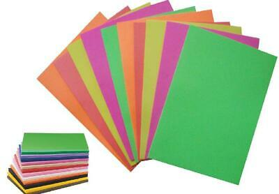 Foam Sheets 2pc Pk A4 2mm Thick for Arts /& Craft 12 Colours to Choose Cardmaking