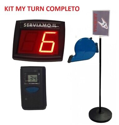 Kit Eliminacode My Turn Completo Pronto All'uso