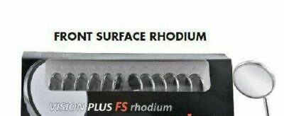Dental Instrument Mouth Mirror Tops FS Rhodium Coated Pack of 12 pcs MMTFS5