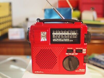 Eton FR200 Portable Radio red
