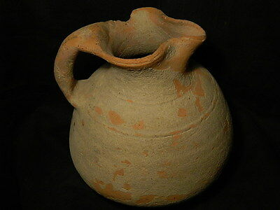 Ancient Huge Size Teracotta Jug Bactrian 300 BC #SG2334