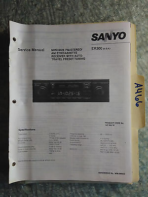 NEW Sanyo MDR-4 Minidisc Player//AM-FM Tuner Car Stereo