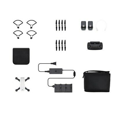 DJI Spark Mini Quadcopter Drone - Fly More Combo - 1080P Video 12MP Photos