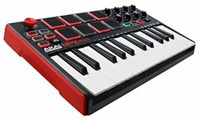Akai Professional MPK Mini MKII 25-Key Ultra-Portable USB MIDI Drum Pad Keyboard