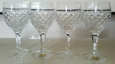 """Atlantis CHARTRES Champagne Fluted 8 1//4/"""" Tall x 2 1//4/"""" Wide EUC Multiple Avail"""