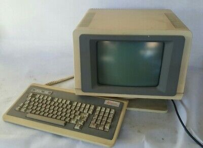 1984 Ultra rare Vintage antique Visual 102 terminal DEC VT + mechanical keyboard