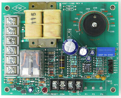 Watlow A007-1298 REV K Temperature Control Board