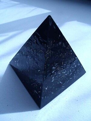 Black Sun Tall Large Pyramids Crystal Orgone Energy Generator LIFELOVE!!