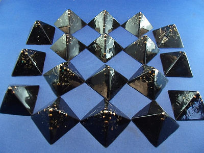 50 Black Sun Small Pyramids Crystal ULTIMATE POWER GIFTING!! =Life+LOVE!!