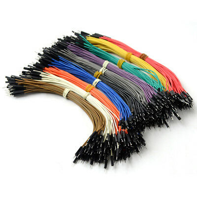 40 Pcs Color Jumper Wire Cables Arduino For 20cm Male 40pin to Male Dupont