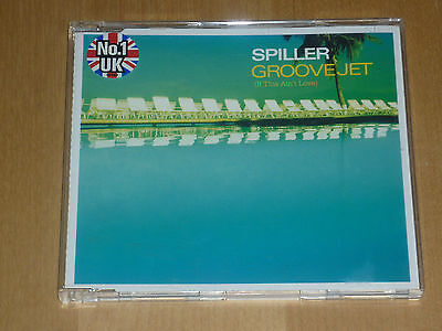 CD Spiller  - Groovejet - If this ain`t love - Maxi CD