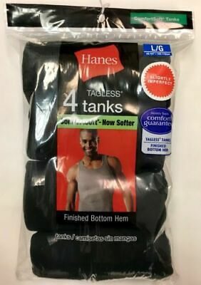 4 pack hanes mens a shirt choose your size & color