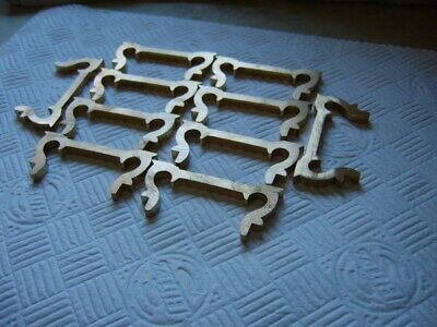 TEN NEW SOLID BRASS  Carriage Clock Handles.