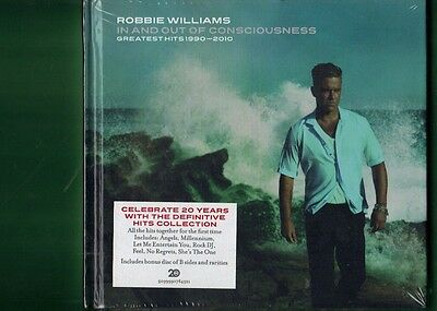 Robbie Williams -In And Out Of Consciousness Greatest Hits Triplo 3 Cd Sigillato