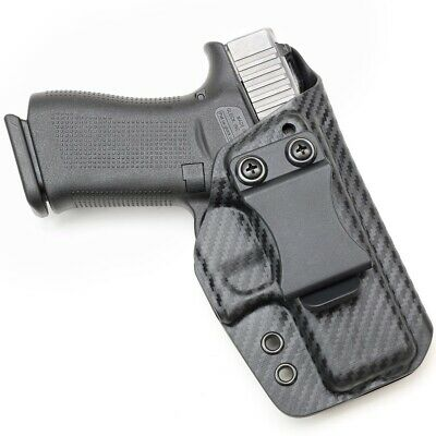MADE FOR GLOCK 43/43X - IWB Adjustable Kydex Holster
