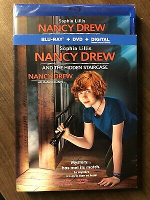 Nancy Drew and The Hidden Staircase Blu Ray & DVD w Slip Cover Canada LOOK
