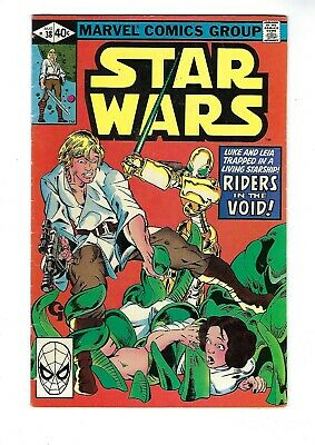 STAR WARS # 38 (Marvel Comics, RIDERS in the VOID, Aug 1980), VG/FN