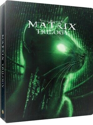 The Matrix Trilogy (SteelBook)(4K Ultra HD)(UHD)(Dolby Vision)(Atmos)(Jun 4)