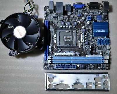 Asus P8H61-I LX R2.0 LGA 1155 Mini-ITX Motherboard + Heat Sink Fan & I/O Shield