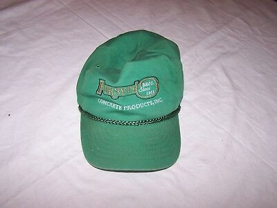 FORSYTH CONCRETE PRODUCTS - Snap Back Trucker Hat